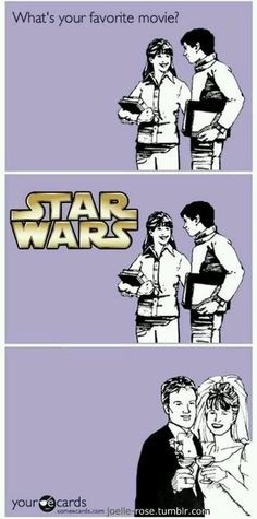 "STAR WARS: And THAT kids, Is the Story of How I Met <> ""YOUR FATHER"""