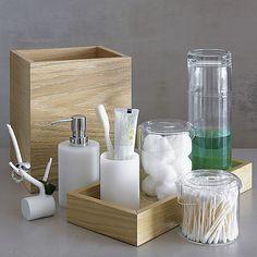 cora carafe in bath accessories | CB2