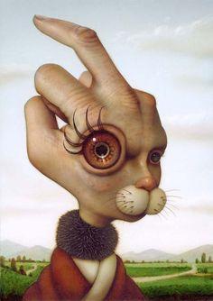 Naoto Hattori - Dreams, Consciousness and Creativity Creepy Art, Weird Art, Arte Lowbrow, Surealism Art, Arte Peculiar, Wow Art, Art Graphique, Psychedelic Art, Surreal Art