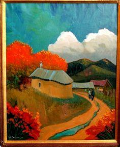 Studio de Colores in Taos, New Mexico by Ed Sandoval ~Repinned Via Jane Jones