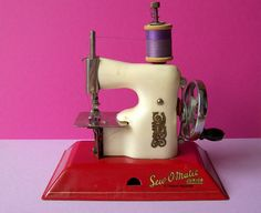 This looks like the exact sewing machine I received for a birthday present .........same colour too!