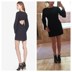 Express little black dress with Open back size 0 Brand-new with tags's size 0 fully lined, 20% off when you buy 2 or more items from my closet.  trades Express Dresses