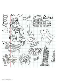 http://www.mummypages.ie/colouring-pages/travel-doodles-italy-colouring-page