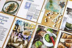 Middlewest, a deconstructed cooking magazine made up of recipe cards