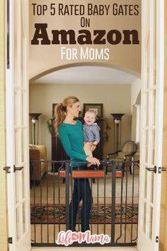 There are many choices for the best baby gates and your search might become overwhelming. We have narrowed it down to what we believe are the five best baby gates.