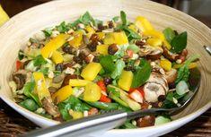 Gruwelijk lekkere en snelle lauwwarme salade