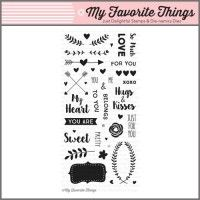 My Favorite Things Clear Stamp - So Much Love