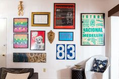 Brandon's Bold and Bright Bachelor Pad