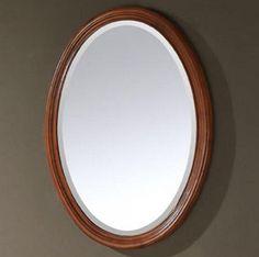 Bathroom Mirrors Oval modern oval bathroom mirrors   1   pinterest   oval bathroom