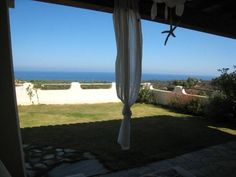Villetta Chillout is a stylish holiday rental with gorgeous sea view, perched on a hill near the wonderful beaches of Chia in South Sardinia. View Master, Enjoying The Sun, Back Gardens, Sardinia, Great View, Ground Floor, Modern Interior, Contemporary Design, Terrace