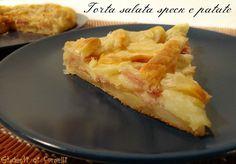 torta salata speck e patate ricetta torta rustica con speck