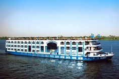 Hotel Ship : MS Grand Rose by Cairo Marine Design