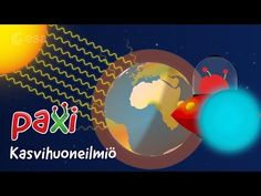Paxi – The Greenhouse effect Greenhouse Effect, Greenhouse Ideas, Earth Science, Global Warming, School Projects, Climate Change, Einstein, Create Yourself, Preschool