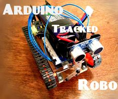 This Instructable will show you how to build a tracked Arduino-controlled robot…