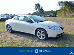 2008 Pontiac G6 GT Call for Price  miles 904-507-0626 Transmission: Automatic  #Pontiac #G6 #used #cars #NimnichtChevrolet #Jacksonville #FL #tapcars
