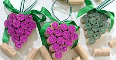 Here's how to re-purpose wine corks into easy DIY Christmas ornaments for the holidays!