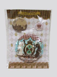 Angelic Pretty: Chess Chocolate badge set