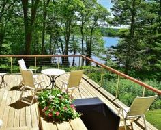 A peaceful summer cottage just steps from the ocean. Enjoy a relaxing summer vacation in Cushing, Maine.