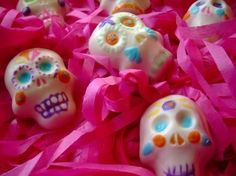 Chocolate Day of the Dead Skulls