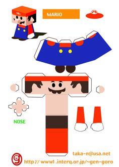 mario bros - papercraft wiki