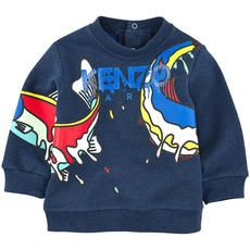 Kenzo Kids - Fish fleece sweatshirt - 105856
