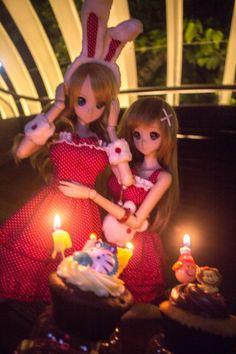Smart Doll Kizuna Yumeno and Mirai Suenaga by sakurai_pikachu