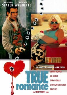 "Just saw ""True Romance"" recently ... interesting film found in the supermarket #remaindered bin"