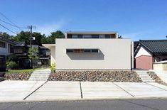 Home Landscaping, Facade, Garage Doors, Sidewalk, New Homes, Floor Plans, Patio, Flooring, Landscape