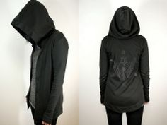 Witching Hour Hoodie with Creature Print from SOVRIN - Pixie Kitsune