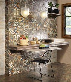 Mainzu will feature the Decor Medievo series at Cersaie 2013 #tile #ceramica