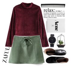 """""""#521 Winter"""" by mia5056 ❤ liked on Polyvore featuring Maison Margiela, WALL and T3"""