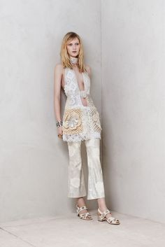 julia nobis for alexander mcqueen resort 2014