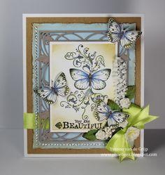 You are Beautiful - Yvonne vd Valk - vd Grijp: Stempelglede :: Design Team Blog