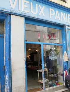 lovers of mint Provence, Blog Deco, Store Fronts, France, Boutiques, Outdoor Decor, Rest, Lovers, Paris