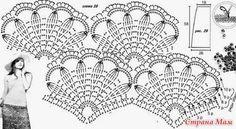 Maravilhas do Crochê: Saia de Crochê_Modelo Russo
