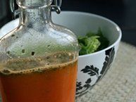 Honeybell Orange Rosemary Vinaigrette