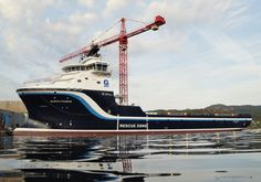 Simek Shipyard Hands Over PSV North Pomor, Norway a platform supply vessel of Skipsteknisk ST-216 Arctic design, to Gulf Offshore Norge AS.