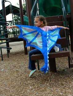 Dragon Wings & Tail Costume Blue for Kids Age 1 to Adult - Kids Costumes Christmas Costumes, Halloween Costumes, Diy Costumes, Cosplay Costumes, Butterfly Wings Costume, Dress Up Boxes, Dragon Party, Adult Birthday Party, Birthday Gifts