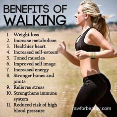 Benefits of walking Exercise Out doors Walking Training, Walking Exercise, Health And Beauty, Health And Wellness, Health Fitness, Paleo Fitness, Keep Fit, Stay Fit, Benefits Of Walking
