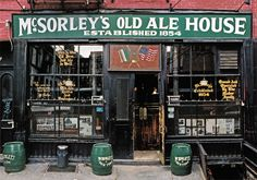 Store Front - McSorley's Old Ale House