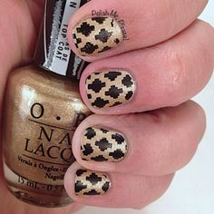 Black and gold for Stamping Saturday http://www.nailartdesignideas.com/