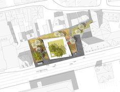 0155-WB-Synagoge-Marburg—site-plan-scape-Landschaftsarchitekten « Landscape Architecture Works | Landezine