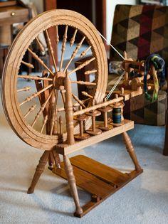 Watson Marie spinning wheel