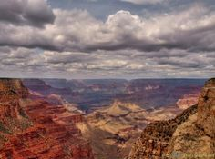 #HDR image of #GrandCanyon #Photography #Airzona #USA #UnitedStates #Canyon #Nature #Mountain #Sky #Cloud - more on www.travel-photographs.net