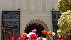 Courtyard at Riad Al-Bushra Decor, Home Decor, Fireplace