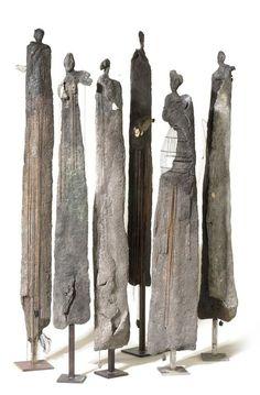 Most recent Screen Ceramics Art sculpture Strategies By Yolande Biver … Ceramic Figures, Ceramic Art, Ceramic Bowls, Arte Tribal, Driftwood Art, Wood Sculpture, Art Sculptures, Stone Sculptures, Sculpture Ideas