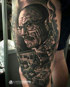 Tattoo by ig:carlosfabra_cosafina
