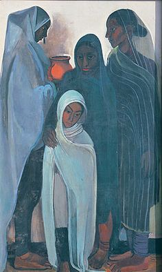 File:Hill Women, a 1935 painting by Amrita Sher-Gil.jpg