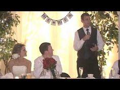 Josh McKee's Hilarious Best Man Speech at Derrick McKee's Wedding