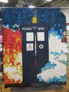 Another Doctor Who quilt